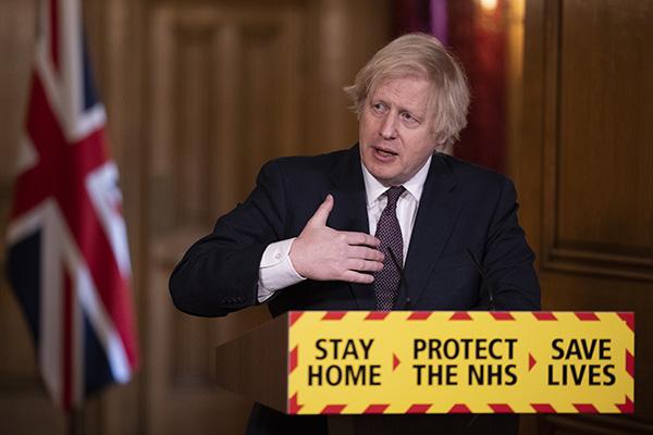 Boris Johnson press conference