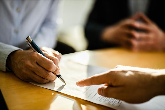 Signing an umbrella contract