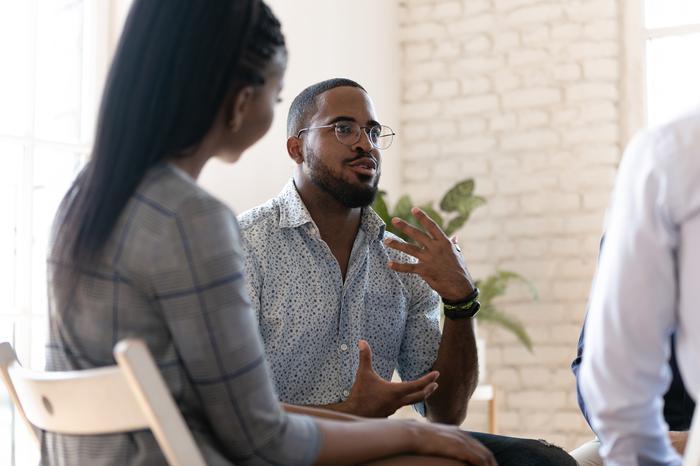 Freelancers talking about mental health