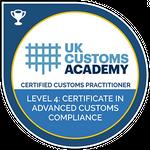 UK Customs Academy certification