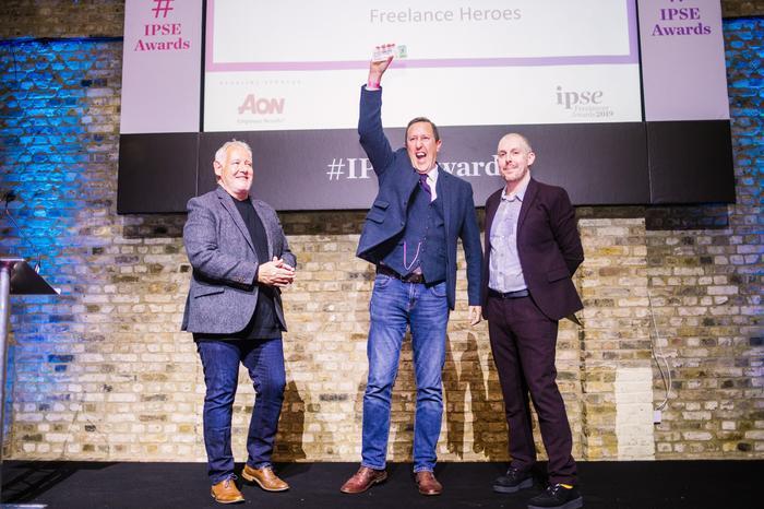 IPSE Freelancer Award winner
