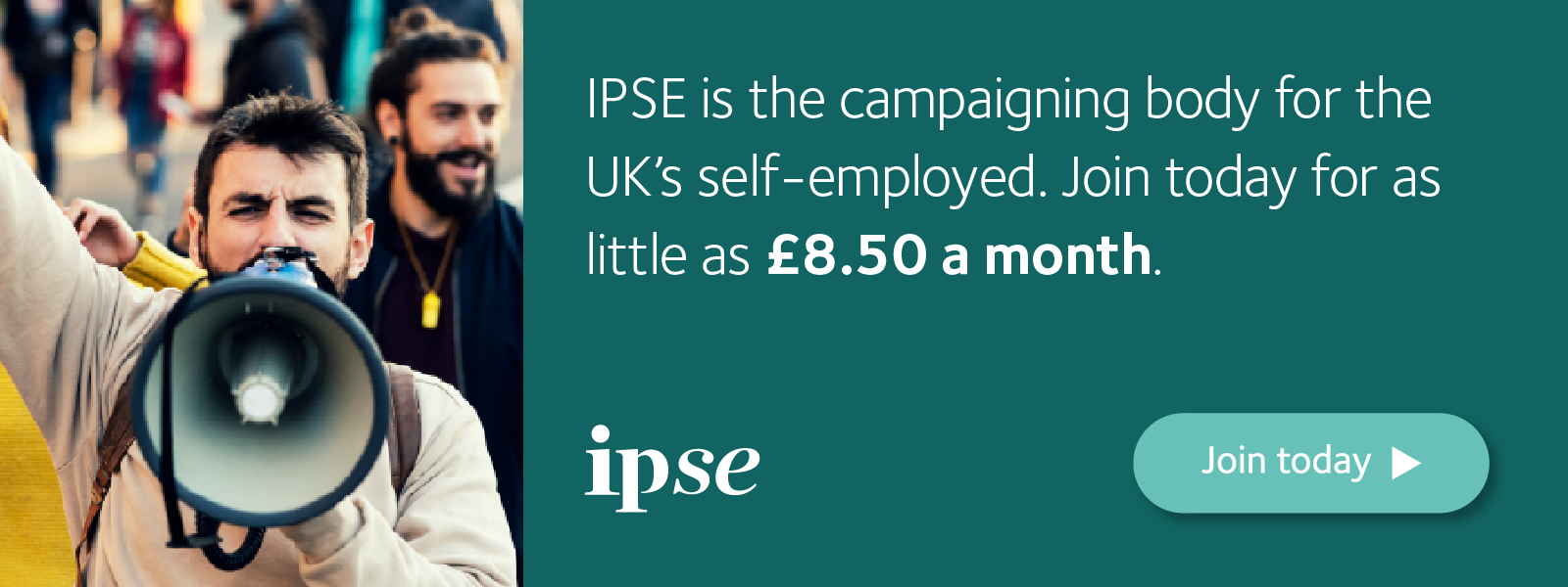 Advert to become a member of IPSE