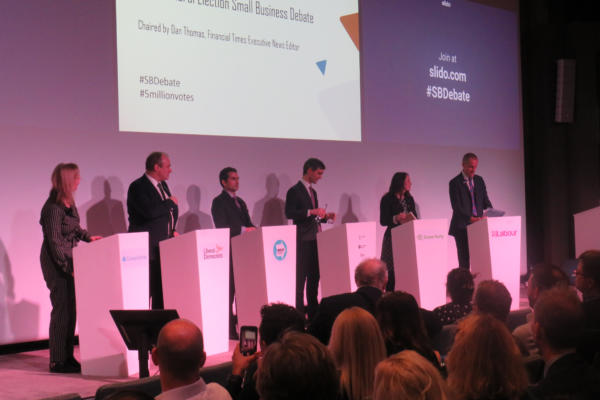 IPSE General Election Hustings 2019 - political parties